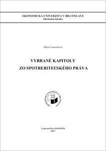 Obrázok Vybrané kapitoly zo spotrebiteľského práva