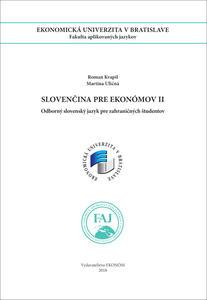 Obrázok Slovenčina pre Ekonómov II