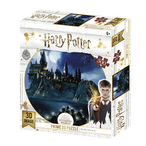 3D PUZZLE Harry Potter Hogwarts 500 ks