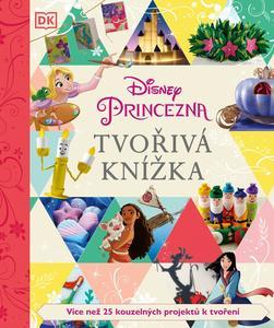 Tvořivá knížka Disney Princezna