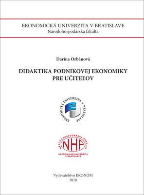 Obrázok Didaktika podnikovej ekonomiky pre učiteľov