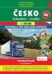 Česko Turistický autoatlas + cyklomapy