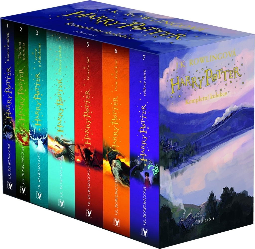Harry Potter (Jonny Duddle) 1-7 BOX - Joanne K. Rowlingová