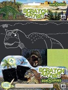 Obrázok Vyškrabávací set Dinosauři