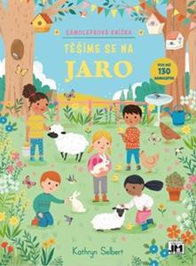 Obrázok Samolepková knížka Těšíme se na jaro