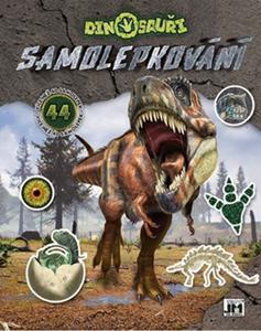 Obrázok Samolepkování Dinosauři
