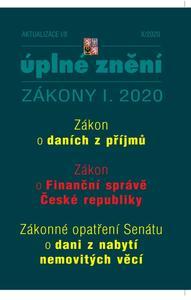 Obrázok Aktualizace I/8 2020 - Úplné znění Zákona o daních z příjmů