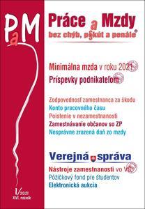 Obrázok Práce a mzdy 1/2021