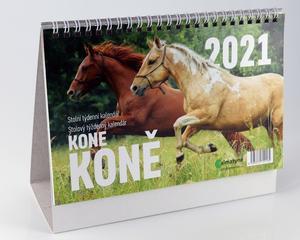 Obrázok Koně 2021 - stolní kalendář