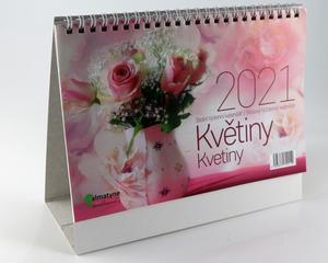 Obrázok Květiny 2021 - stolní kalendář