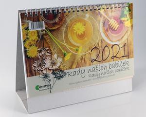 Obrázok Rady našich babiček 2021 - stolní kalendář