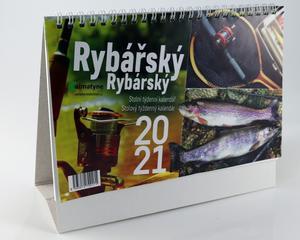 Obrázok Rybářský 2021 - stolní kalendář