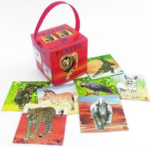 Obrázok Pexeso v krabičce Safari