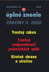 Obrázok Aktualizácia II/10 2020 – Trestné právo