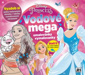 Obrázok Vodové mega omalovánky Princezny