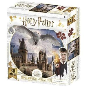 3D PUZZLE Harry Potter Bradavice a Hedvika 500 ks