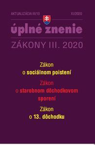 Obrázok Aktualizácia III/10 2020 – 13. dôchodok