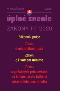 Obrázok Aktualizácia III/9 2020– Zákonník práce a minimálna mzda