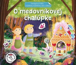 Obrázok Samolepková knižka O medovníkovej chalúpke