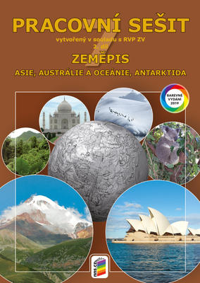Obrázok Zeměpis 7 Asie, Austrálie a Oceánie, Antarktida Pracovní sešit