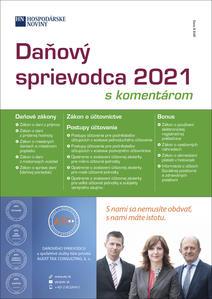 Obrázok Daňový sprievodca 2021