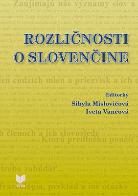 Obrázok Rozličnosti o slovenčine