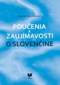 Obrázok Poučenia a zaujímavosti o slovenčine