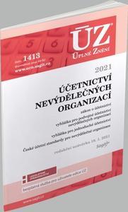 Obrázok ÚZ 1413 Účetnictví nevýdělečných organizací 2021