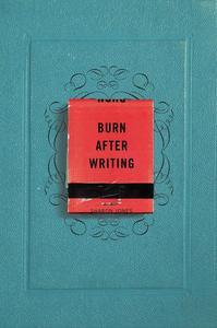 Obrázok Burn After Writing