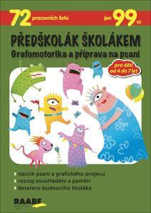 Obrázok Předškolák školákem Grafomotorika a příprava na psaní