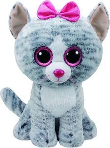 Obrázok Beanie Boos Kiki šedá kočka 42 cm