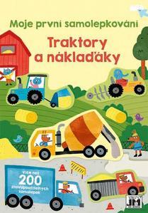 Obrázok Moje první samolepkování Traktory a náklaďáky
