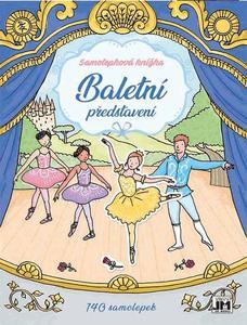 Obrázok Samolepková knížka Baletní představení