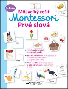 Obrázok Môj veľký zošit Montessori Prvé slová