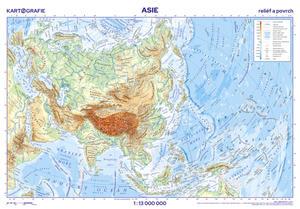 Obrázok Asie Nástěnná mapa 1:13 000 000