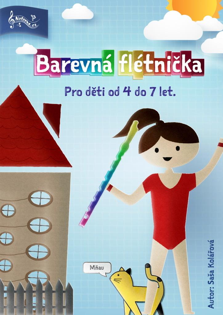 Barevná flétnička - Saša Kolářová