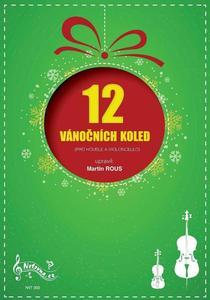 Obrázok 12 Vánočních koled pro housle a violoncello