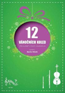 Obrázok 12 Vánočních koled pro klarinet a fagot (violoncello)