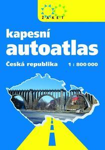Obrázok Autoatlas ČR kapesní 1 : 800 000