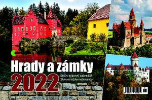 Obrázok Hrady a zámky - stolní kalendář 2022