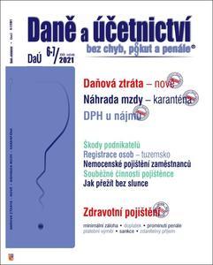 Obrázok Daně a účetnictví bez chyb, pokut a penále  6-7/2021