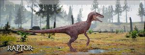 Obrázok 3D pravítko Raptor Deep