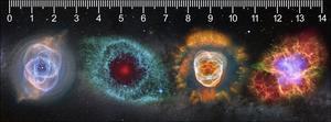 Obrázok 3D pravítko Deep Galaxies