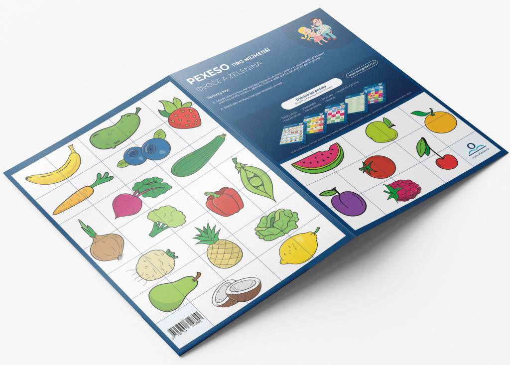 Pexeso pro nejmenší Ovoce a zelenina - Martin Staněk