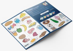 Obrázok Pexeso pro nejmenší Potraviny a nápoje