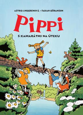 Obrázok Pippi s kamarátmi na úteku