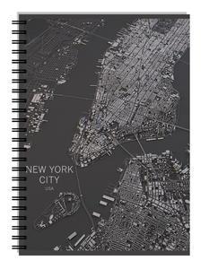 Obrázok College blok A4 linkovaný New York