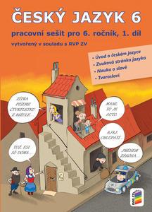 Obrázok Český jazyk 6 1. díl Pracovní sešit