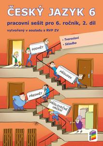 Obrázok Český jazyk 6 2. díl Pracovní sešit