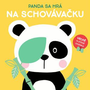 Obrázok Panda sa hrá na schovávačku